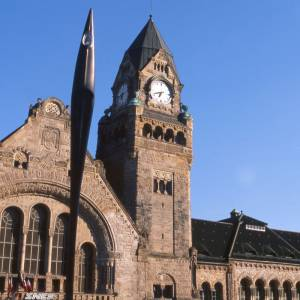 Metz City train Station